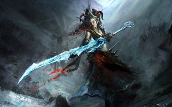 Fantasy - Women Warrior Wallpapers and Backgrounds ID : 268215