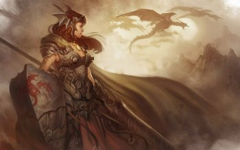 Fantasy - Women Warrior Wallpapers and Backgrounds ID : 268229