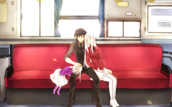 Anime Fate/Zero Fate Series Illyasviel Von Einzbern Irisviel Von Einzbern Kiritsugu Emiya HD Wallpaper   Background Image