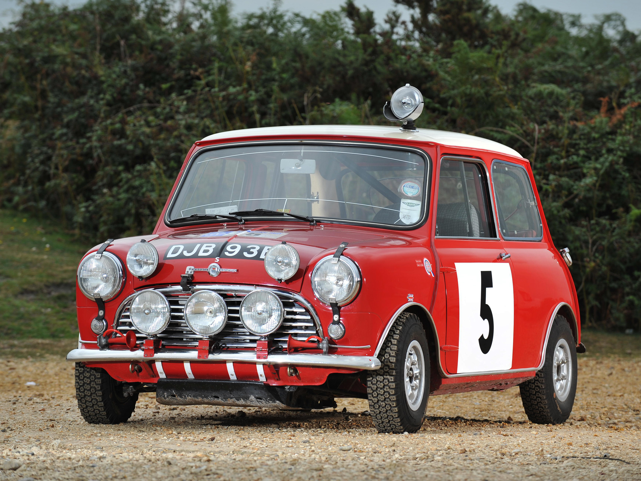 Morris Mini Cooper S Rally (ADO15) \'1964–68 Full HD Wallpaper and ...