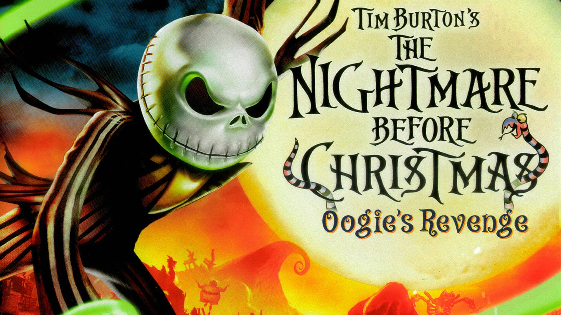 The Nightmare Before Christmas HD Wallpaper | Background Image ...