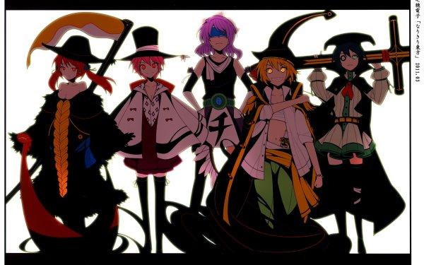 Anime Crossover One Piece Touhou Letty Whiterock Murasa Minamitsu Mystia Lorelei Komachi Onozuka Rumia HD Wallpaper | Background Image