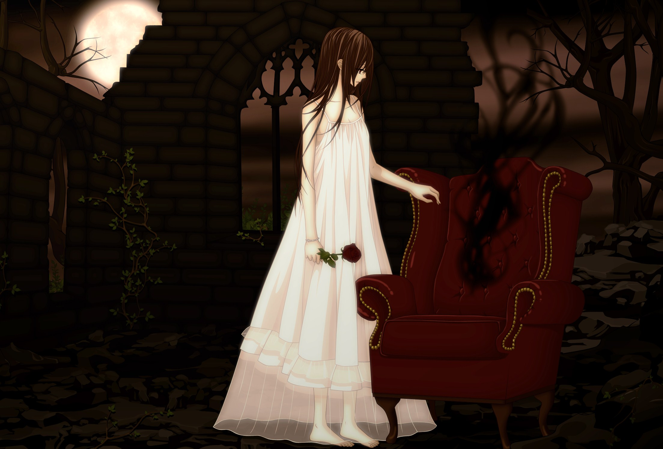 Vampire knight hd wallpaper background image 2207x1496 - Vampire knight anime wallpaper ...