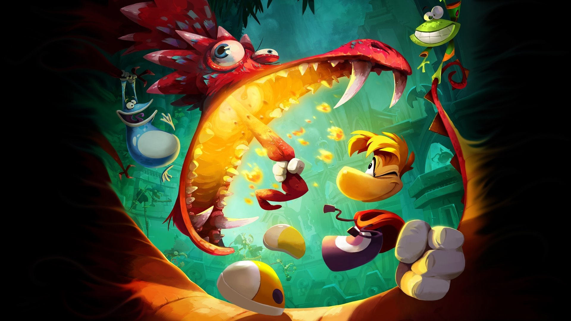 Image result for rayman legends wallpaper