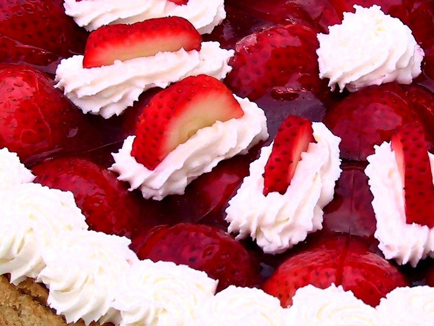 Alimento - Strawberry  Sfondo