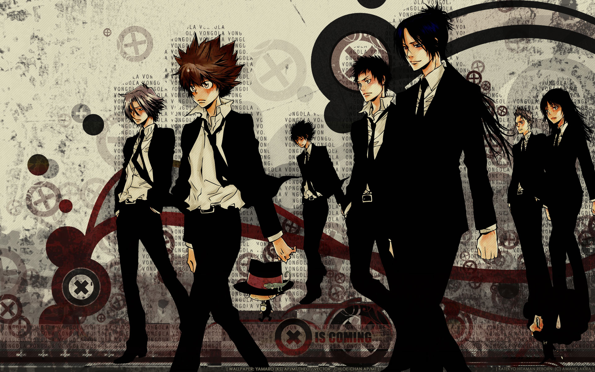 vongola family computer wallpapers desktop backgrounds