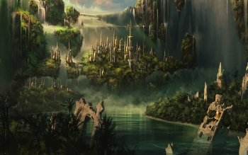 Fantasy - City Wallpapers and Backgrounds ID : 271235