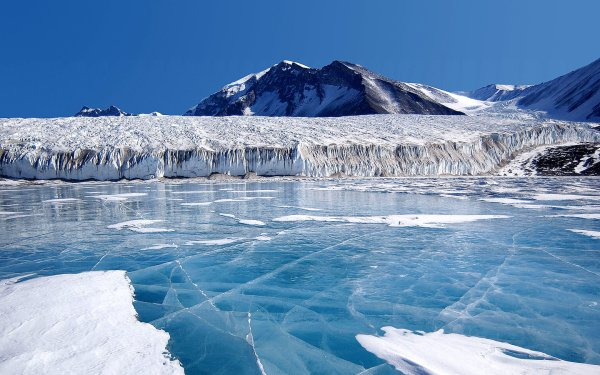 Tierra/Naturaleza Invierno Montaña Hielo Arctic Fondo de pantalla HD | Fondo de Escritorio