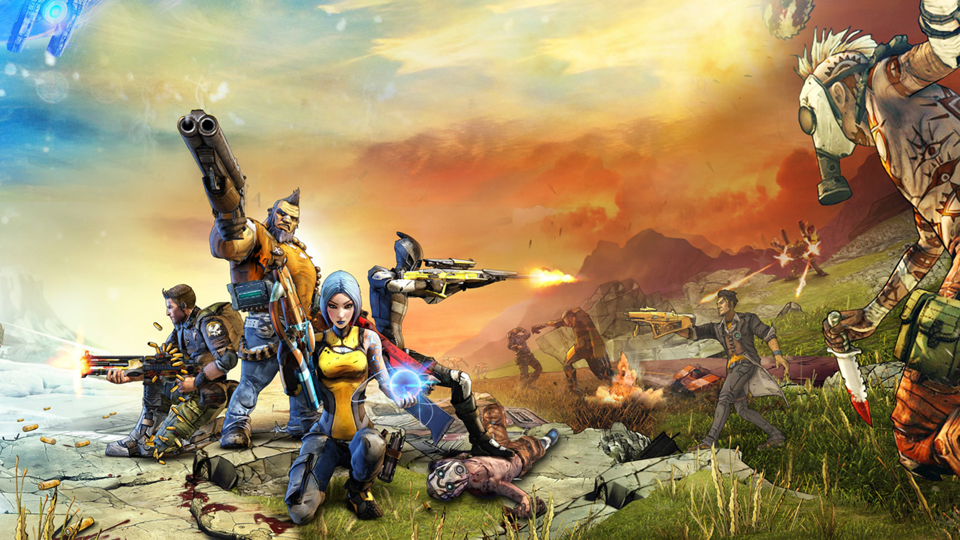 Borderlands 2 HD Wallpaper