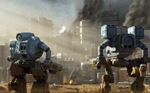 Video Game MechWarrior Robot HD Wallpaper | Background Image