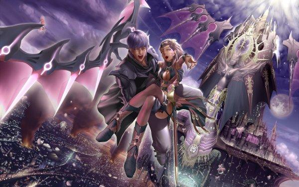 Fantasy Vampire HD Wallpaper   Background Image
