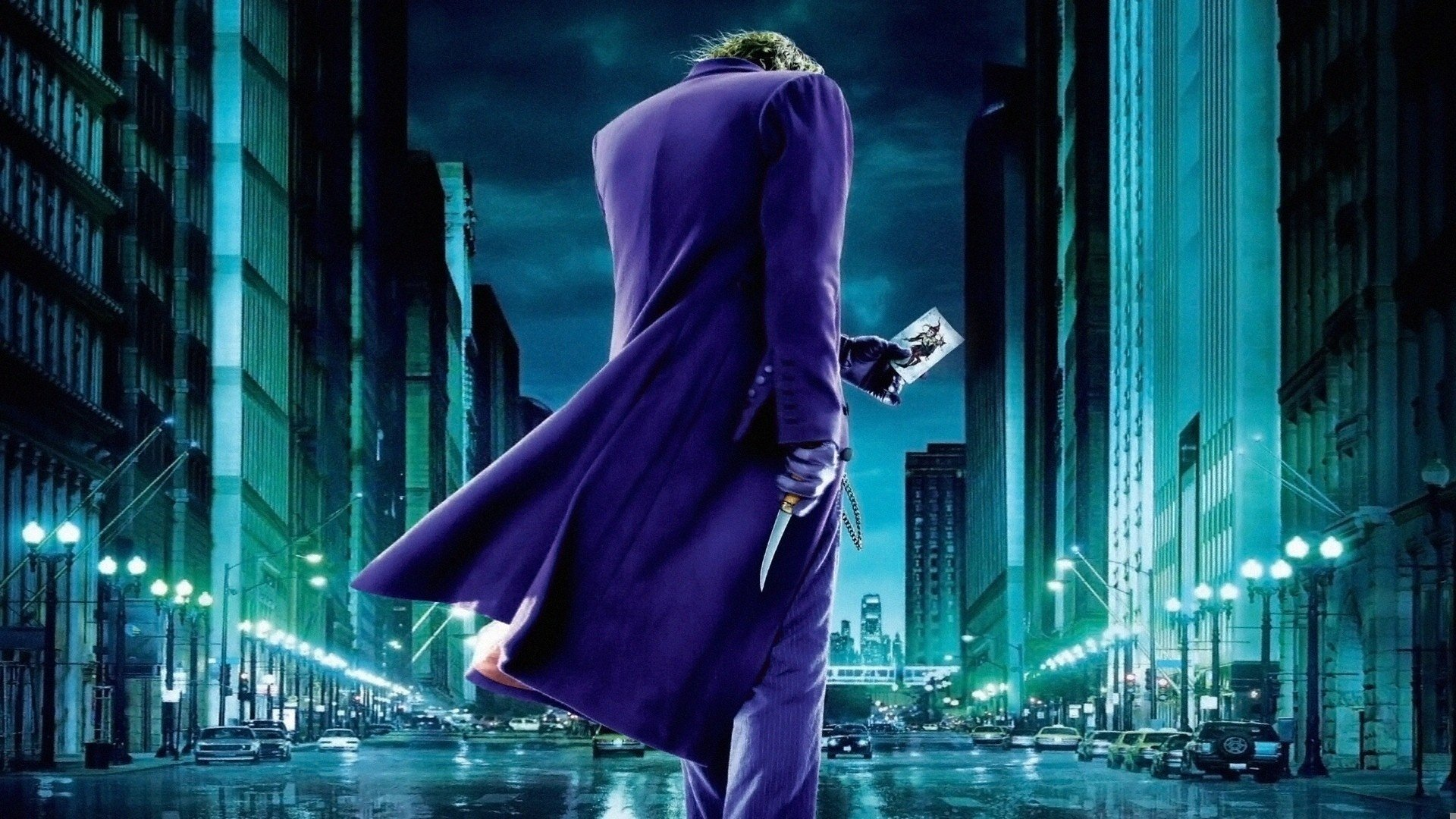 The Dark Knight Joker Papel De Parede Hd Plano De Fundo