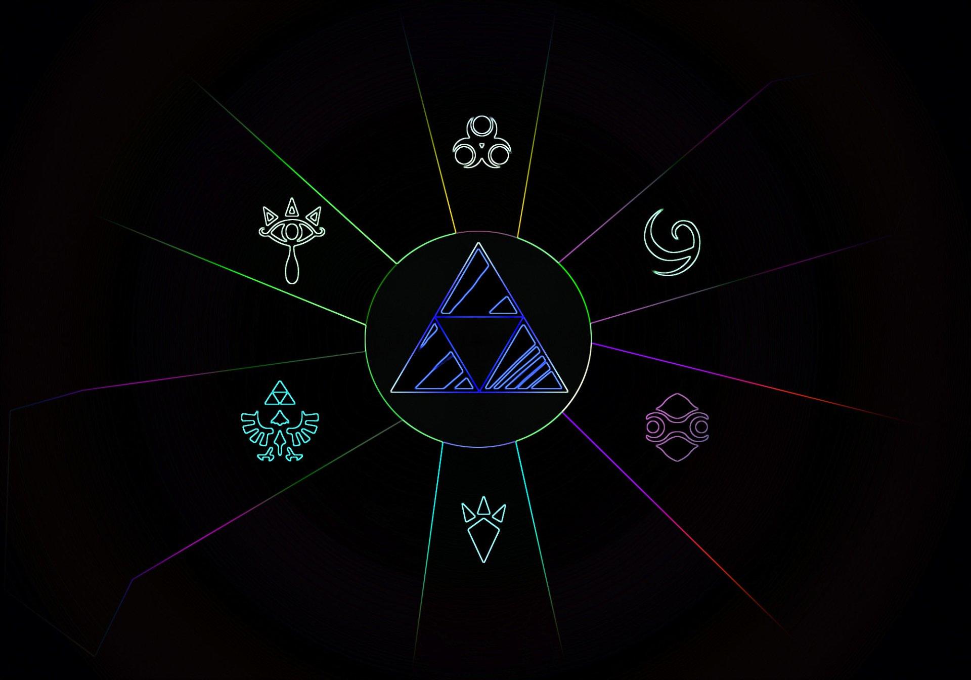 Video Game - The Legend Of Zelda  Zelda Triforce Wallpaper