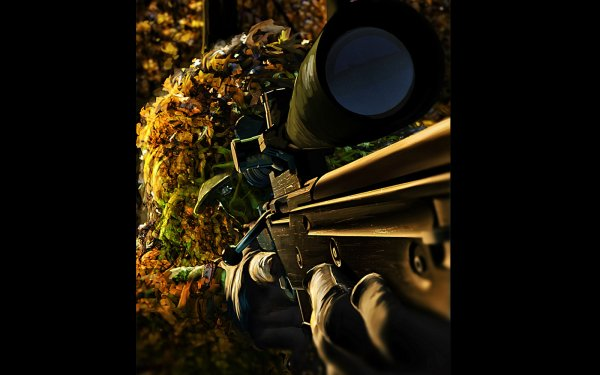Military Sniper Marines HD Wallpaper   Background Image