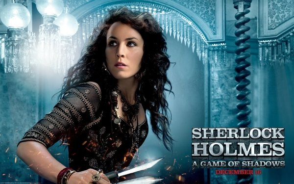 Movie Sherlock Holmes: A Game of Shadows Sherlock Holmes Noomi Rapace HD Wallpaper   Background Image