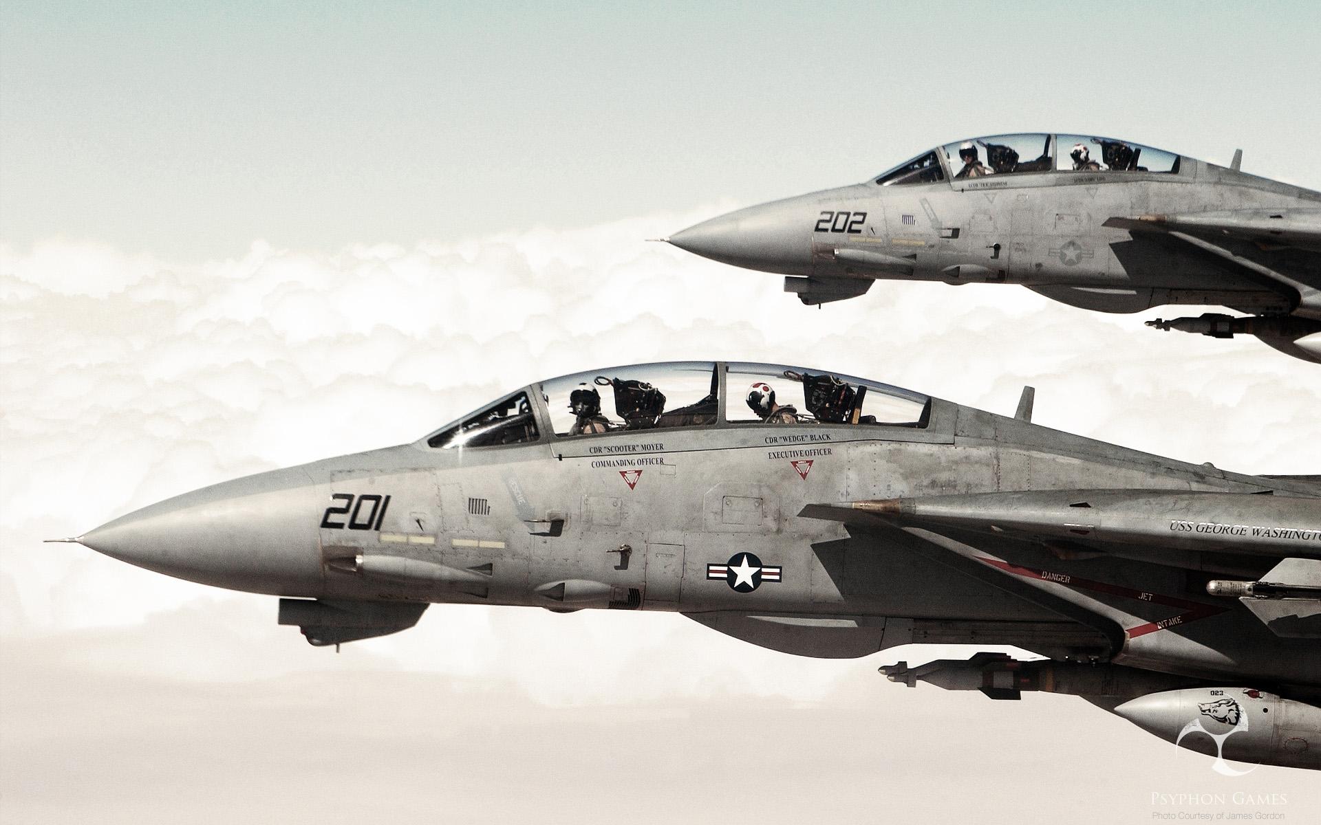 Grumman F-14 Tomcat Full HD Wallpaper And Background Image