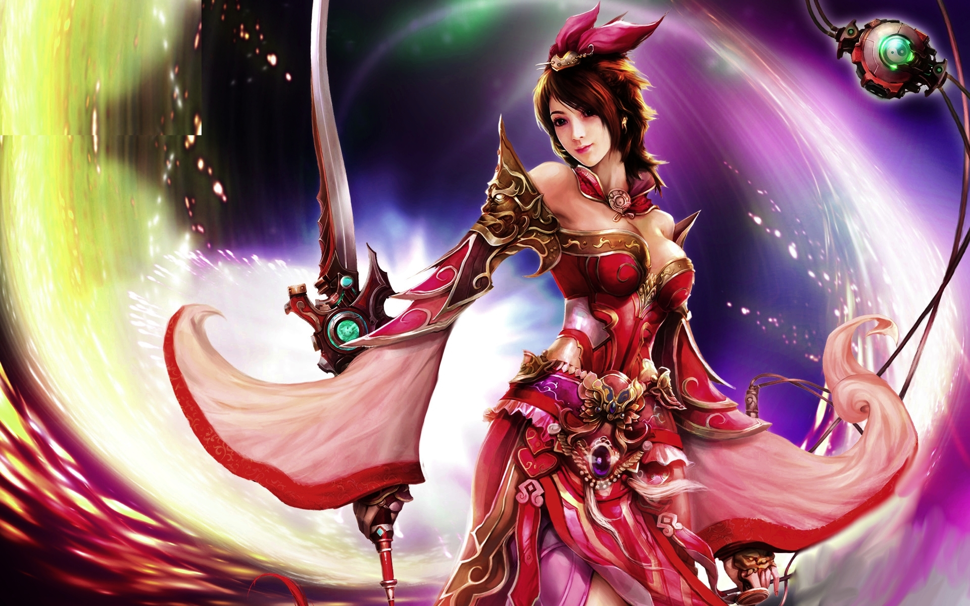 Women warrior hd wallpaper background image 1920x1200 - 3d fantasy wallpaper ...