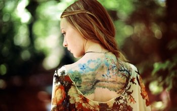 Women - Tattoo Wallpapers and Backgrounds ID : 274889