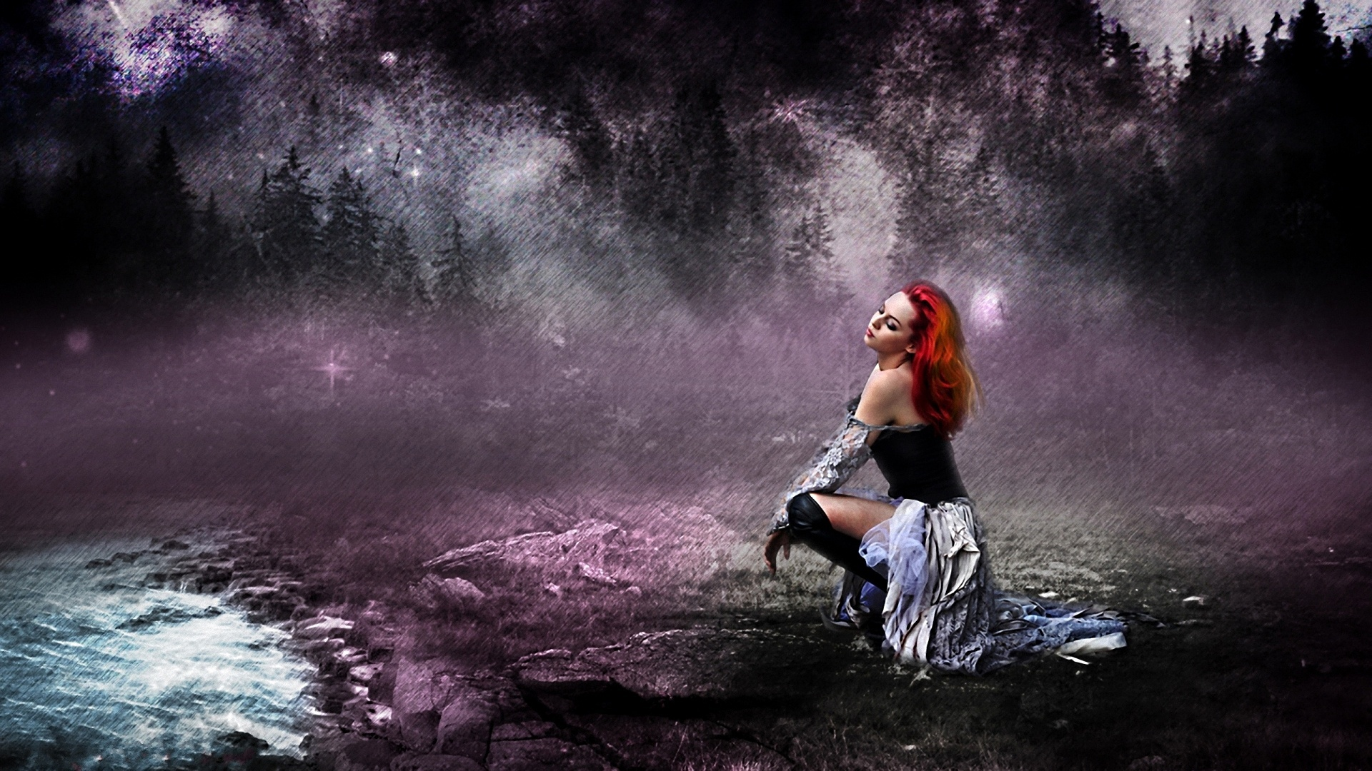 Beautiful Gothic Wallpapers: A Beautiful Women Full HD Wallpaper And Background Image