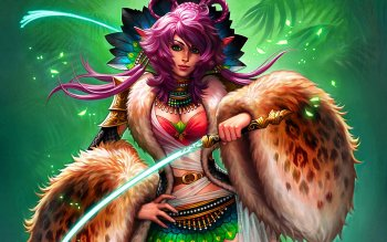 Fantasy - Women Warrior Wallpapers and Backgrounds ID : 275449