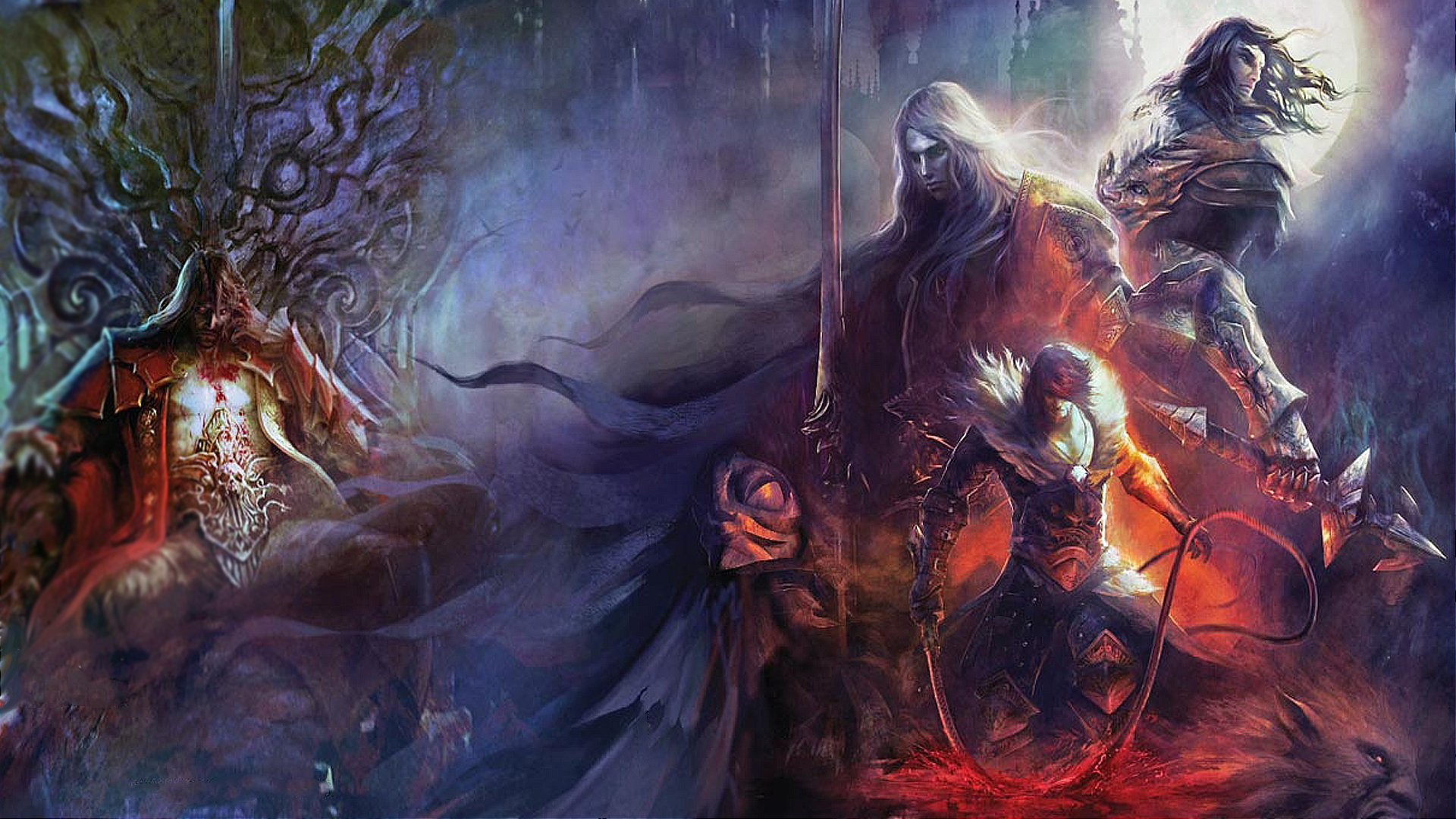 1920x1080 Hd Wallpaper Background Image: Castlevania Full HD Wallpaper And Background Image