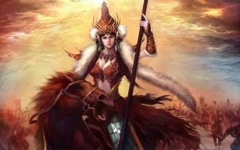 Fantasy - Women Warrior Wallpapers and Backgrounds ID : 276237