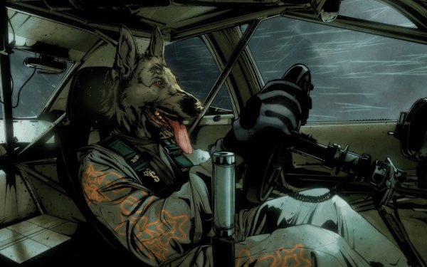Animal Artistic Dog Humor HD Wallpaper | Background Image