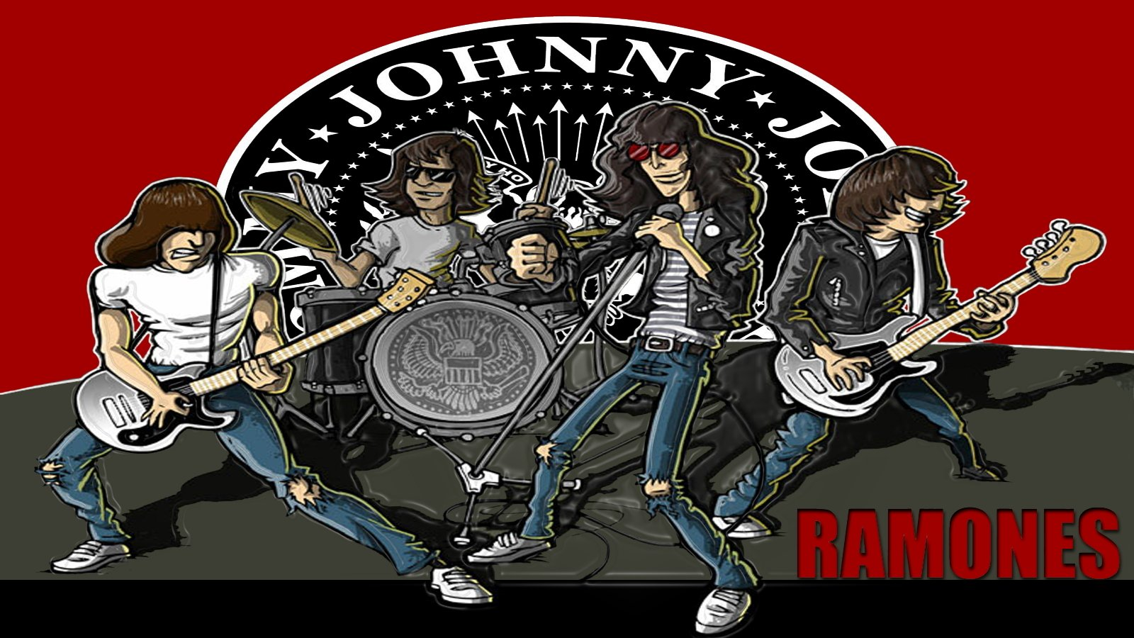 The Ramones Wallpaper and Background Image | 1600x900 | ID ...