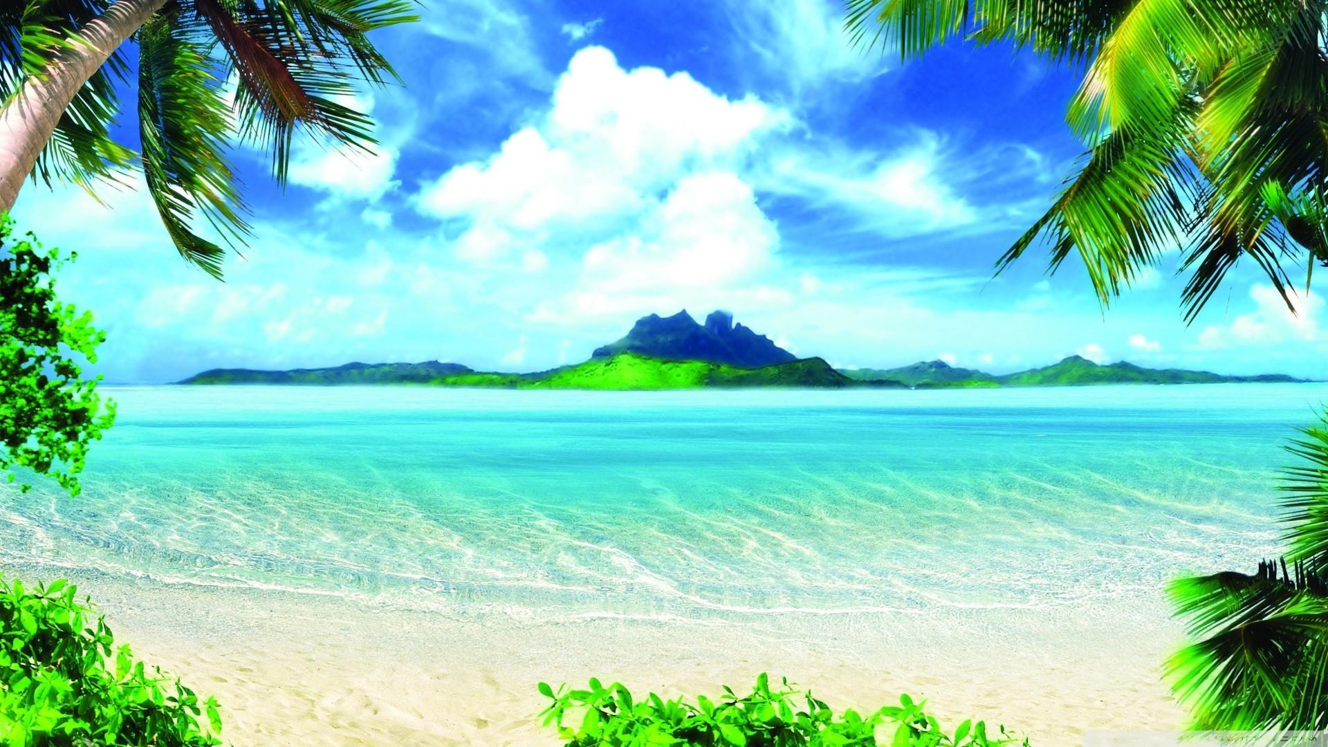 Beach HD Wallpaper | Background Image | 1920x1080 | ID ...