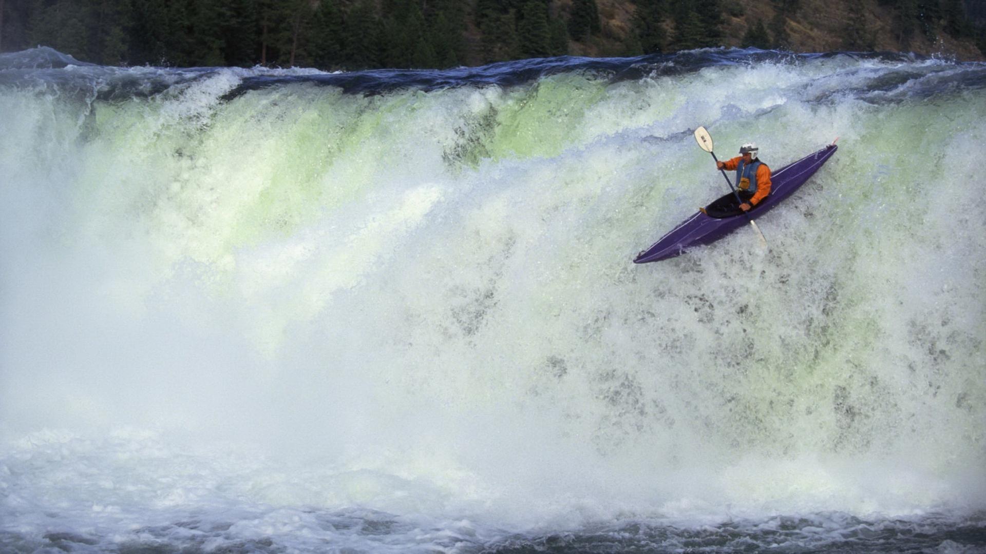 Kayak Full HD Wallpaper And Background Image