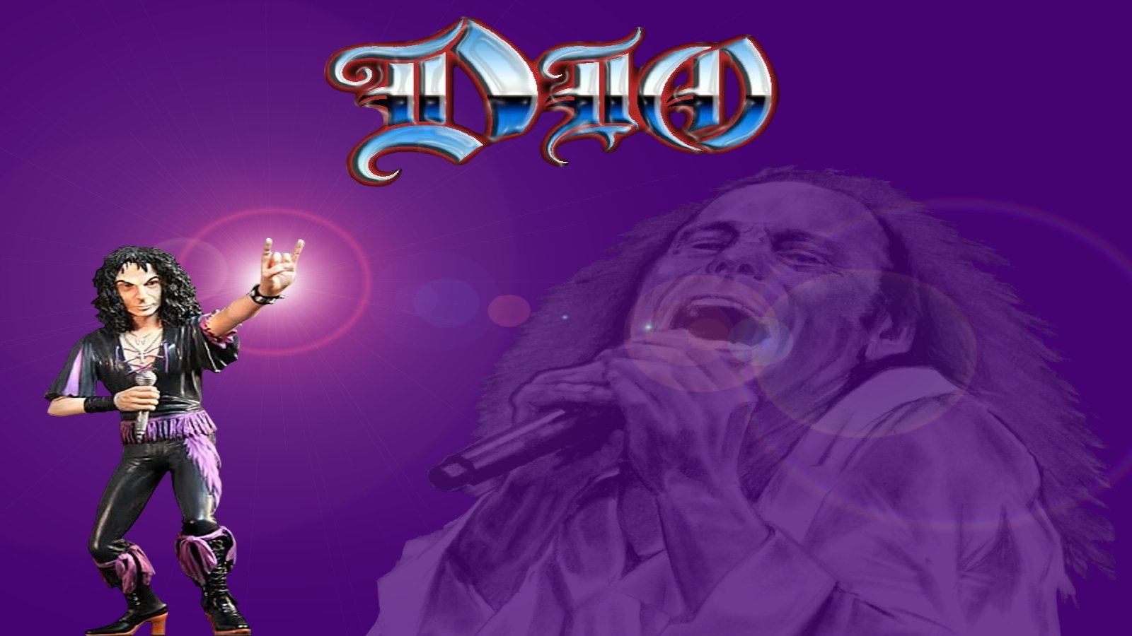 Ronnie James Dio Wallpaper and Background Image | 1600x900 ...