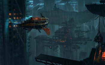 Sci Fi - City Wallpapers and Backgrounds ID : 279999