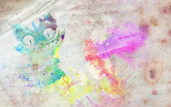 Animal Cat Cats Colorful Watercolor HD Wallpaper | Background Image