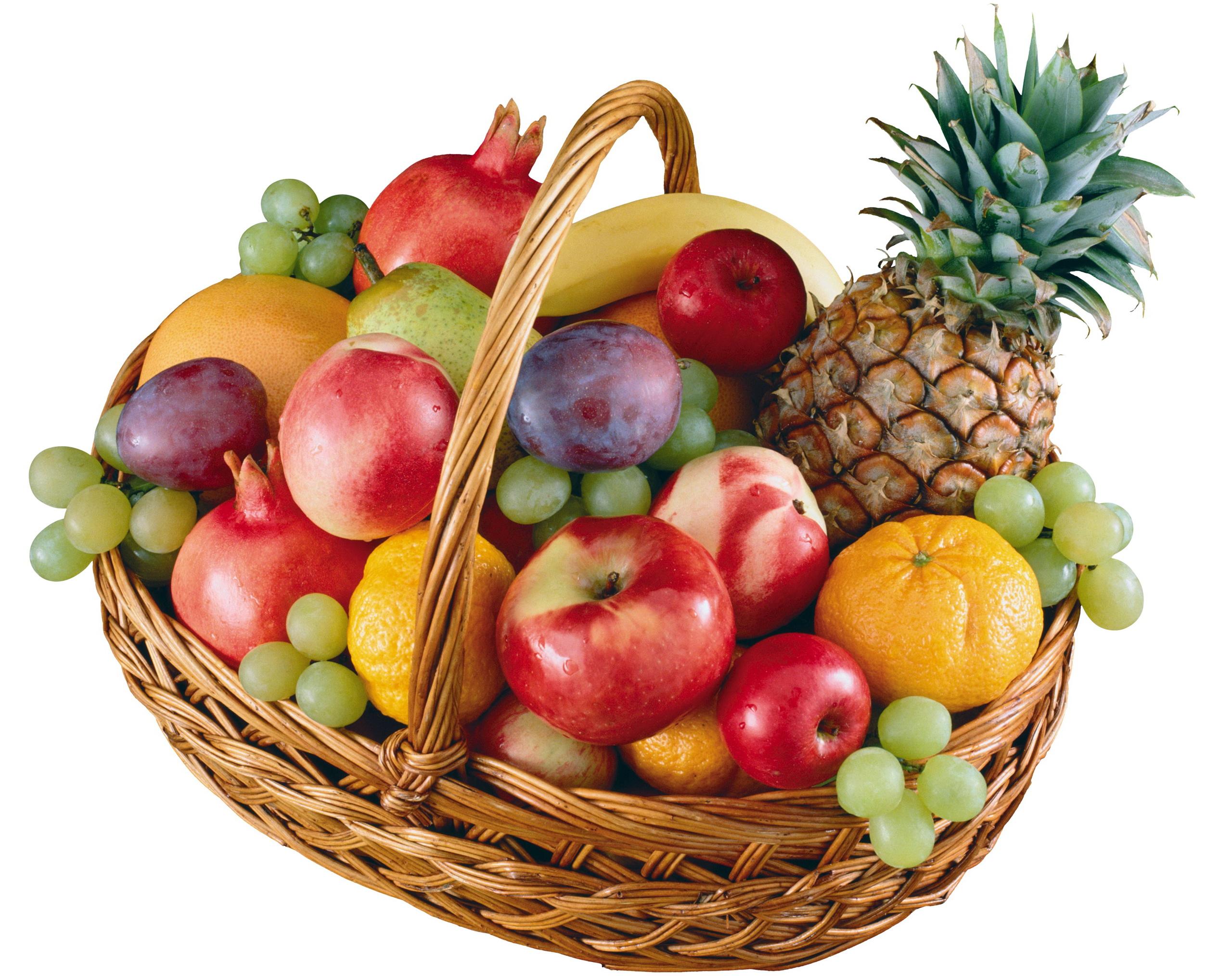 Картинка с днем рождения с фруктами
