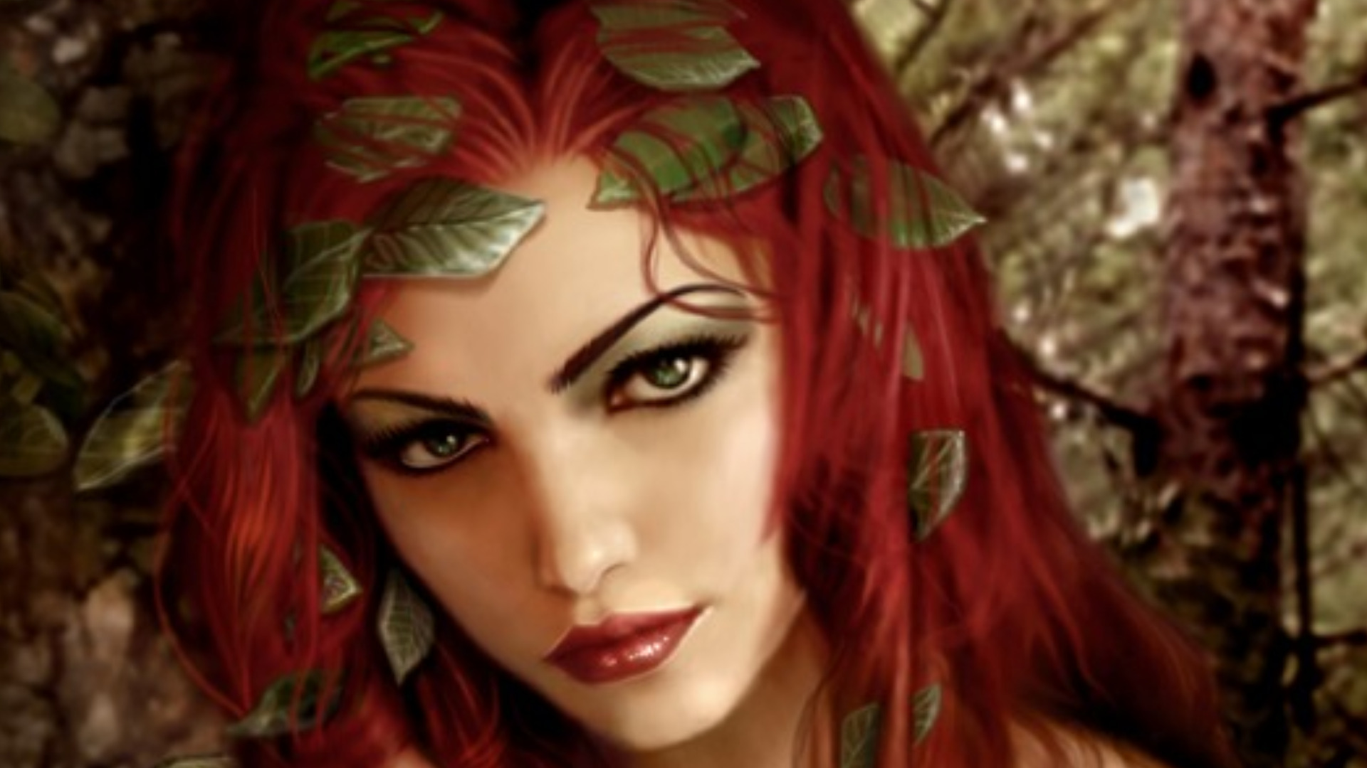 Fantasy - Women  Woman Fantasy Beautiful Redhead Wallpaper