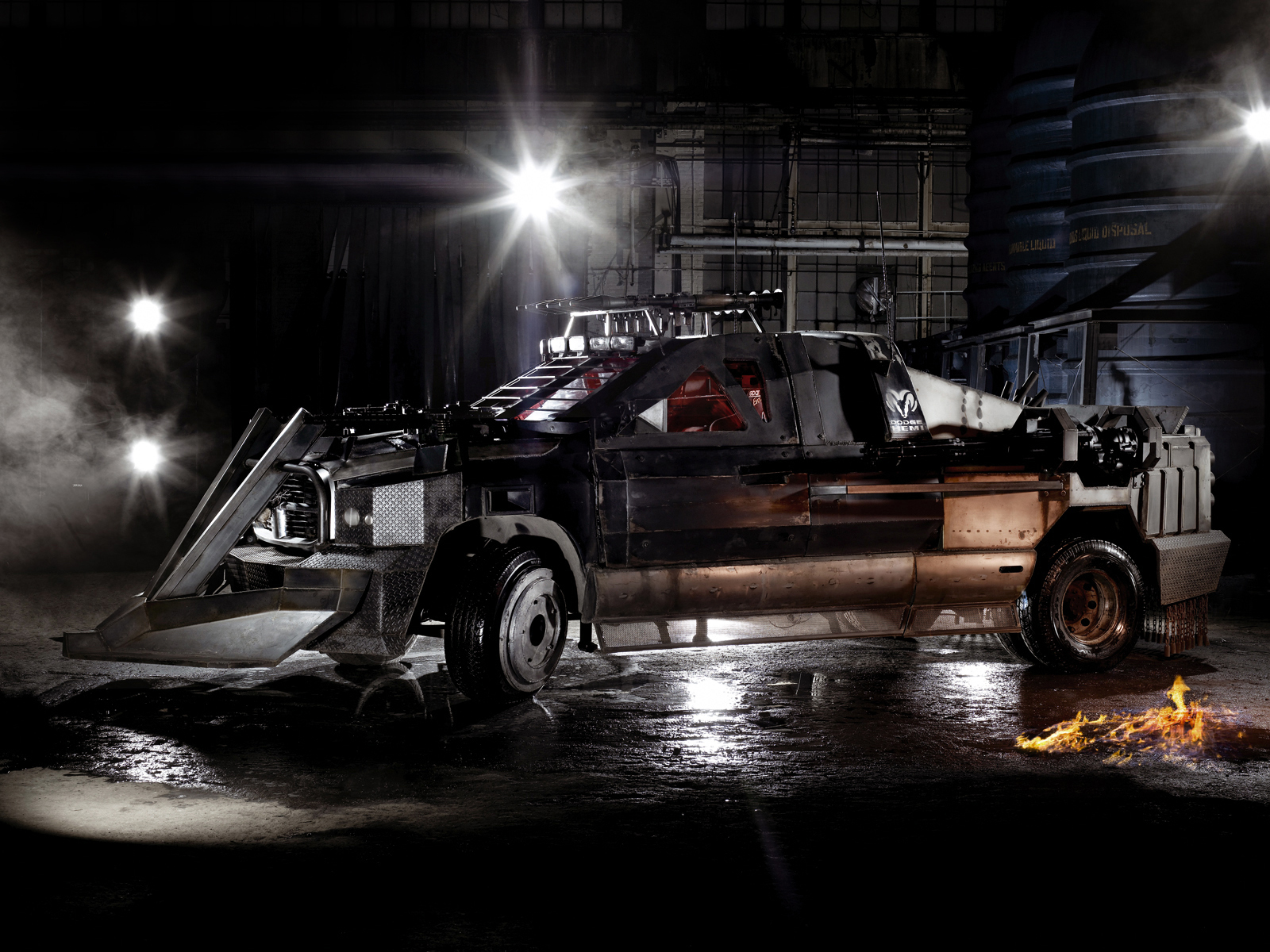 Dodge Ram 1500 Quad Cab Death Race movie truck '2004 ...