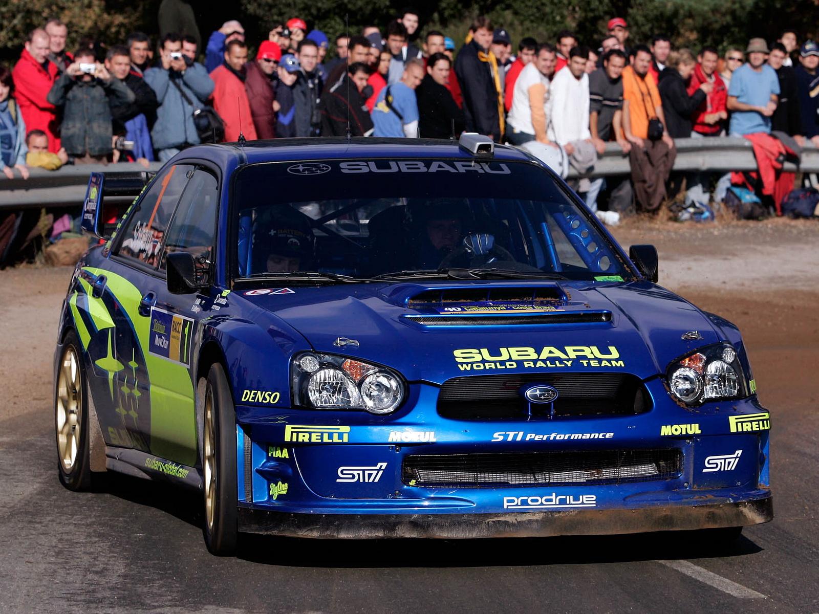 Subaru sti wallpaper