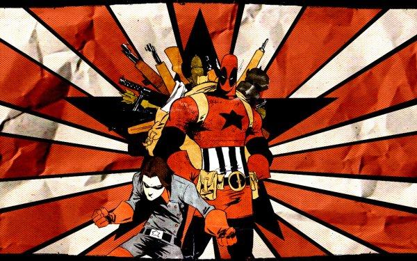 Bande-dessinées Cable & Deadpool Deadpool Fond d'écran HD | Arrière-Plan