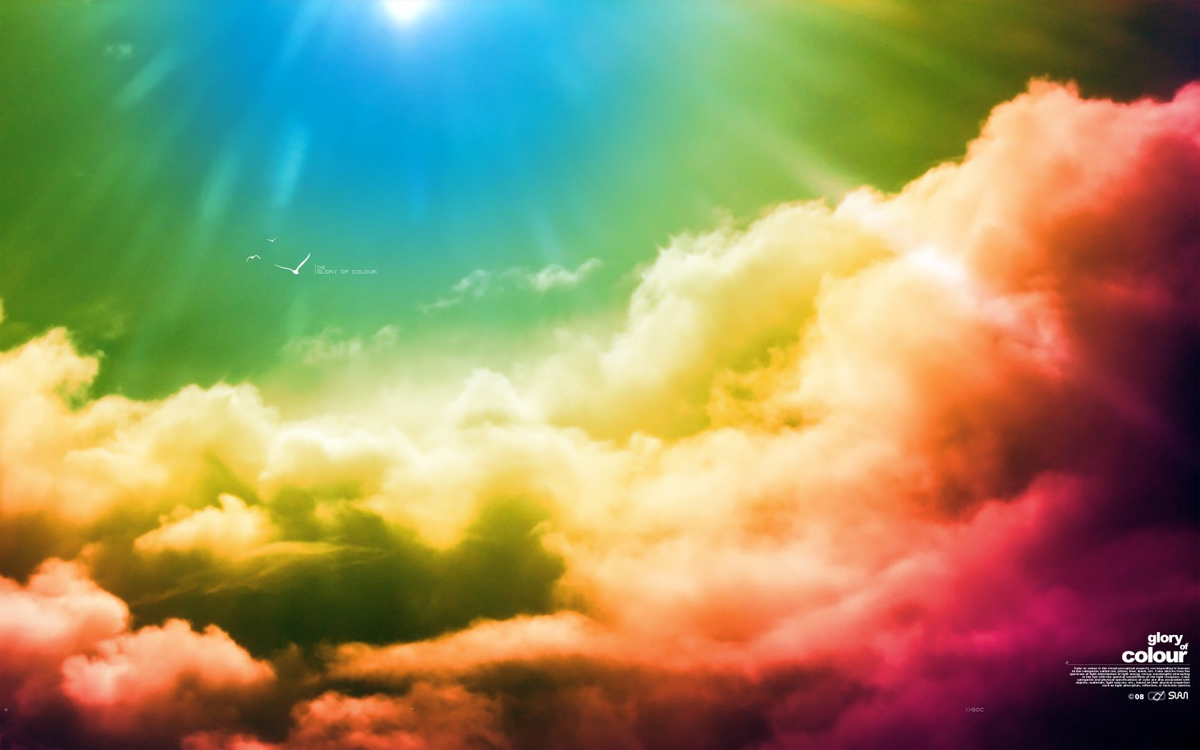 Earth - Cloud  Colors Wallpaper