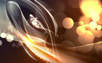 Abstract Cool CGI Light HD Wallpaper | Background Image