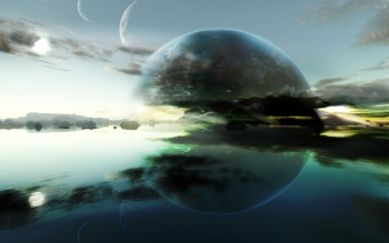 Fantascienza - Planet Rise Wallpapers and Backgrounds