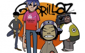 Muziek - Gorillaz Wallpapers and Backgrounds ID : 349