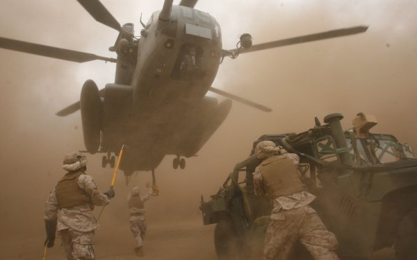 Military Sikorsky CH-53 Sea Stallion Military Helicopters HD Wallpaper | Background Image