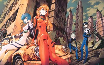 802 Neon Genesis Evangelion Hd Wallpapers Background Images