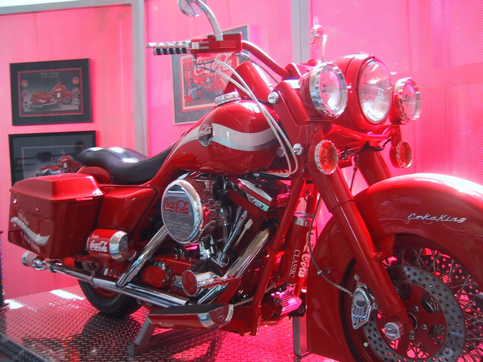 Products - Coca Cola  Motorcycle Wallpaper
