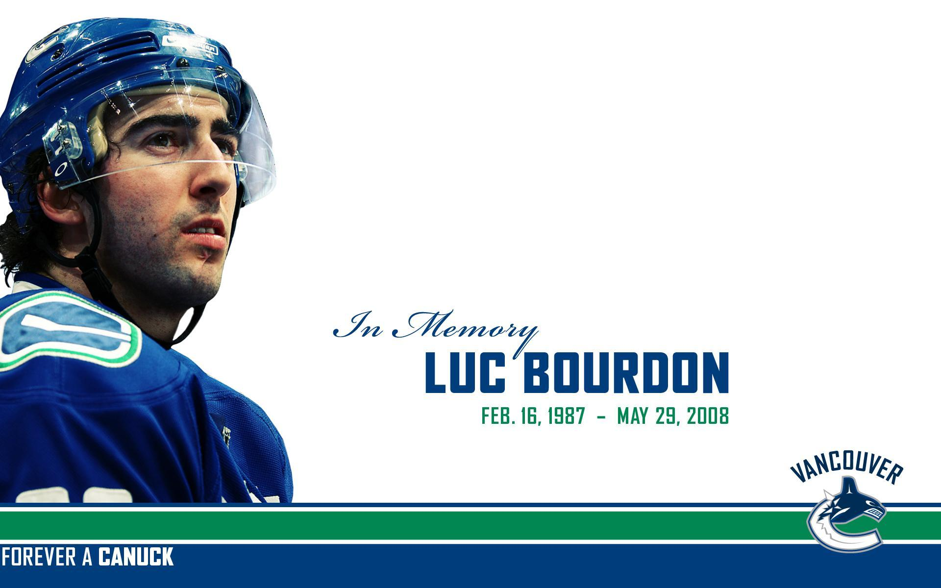 Sports - Hockey  Luc Bourdon Wallpaper