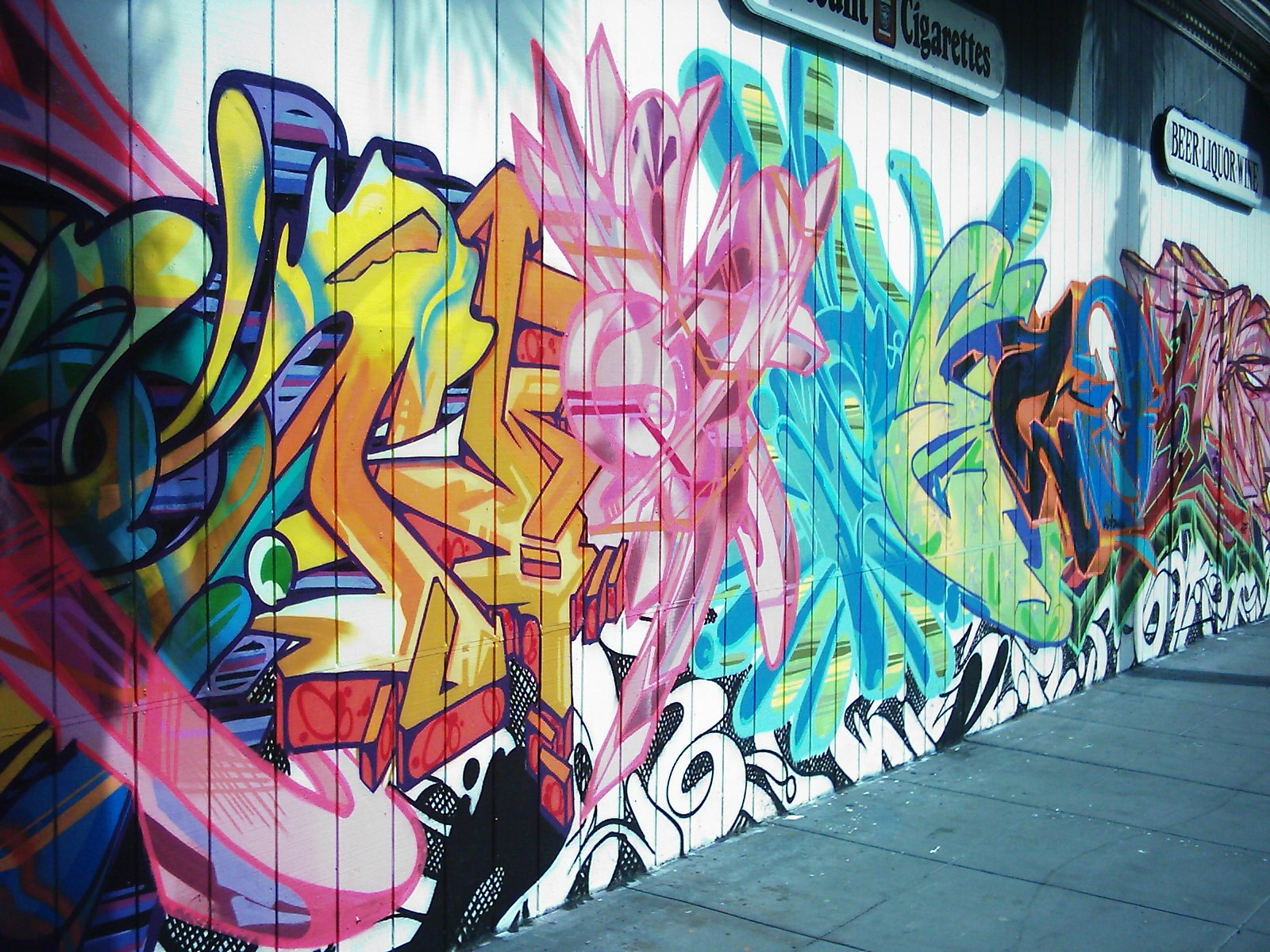 Grafitti wall background - Hd Wallpaper Background Id 42347