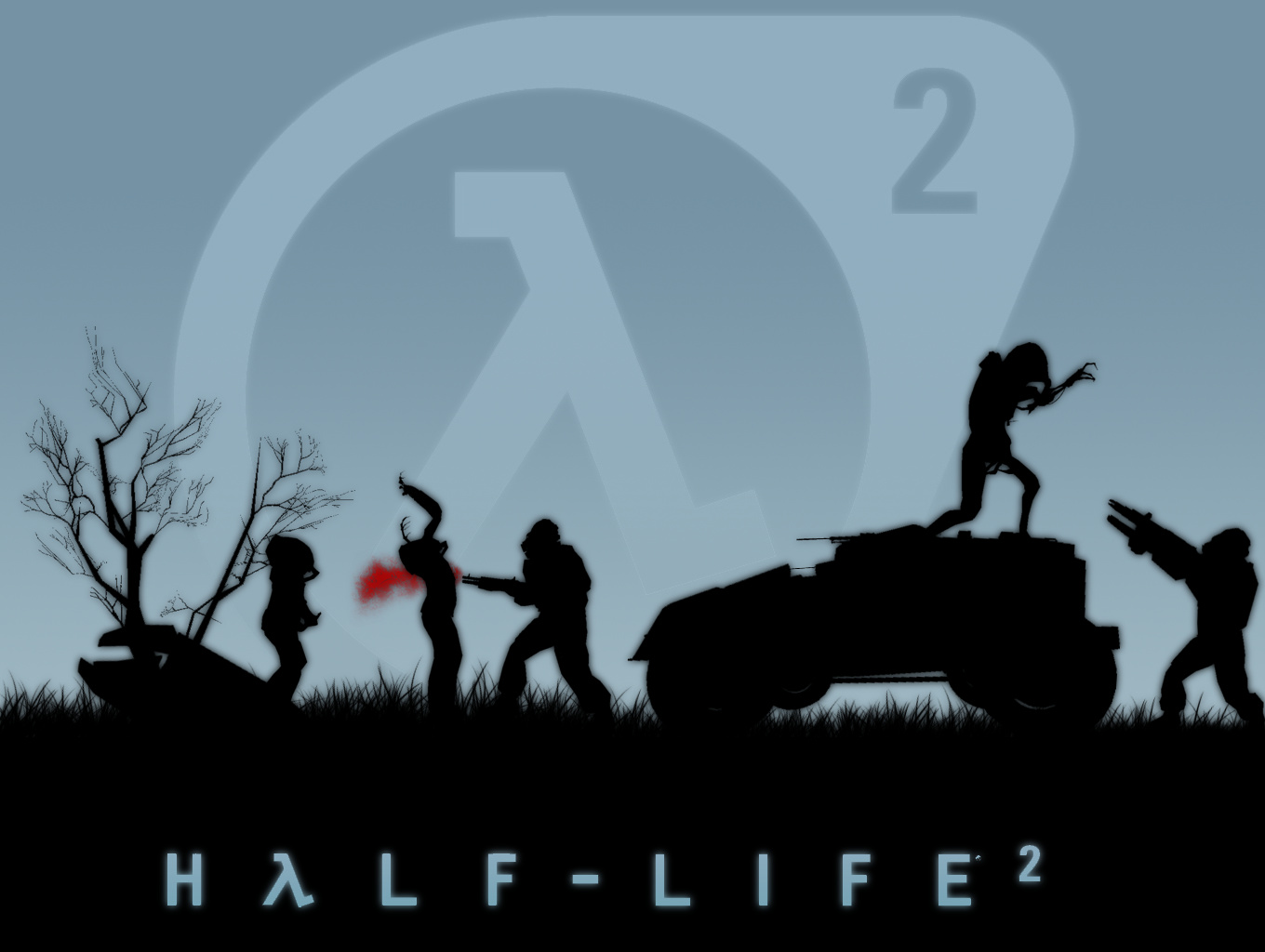 half-life wallpaper and background image | 1360x1024 | id:43189