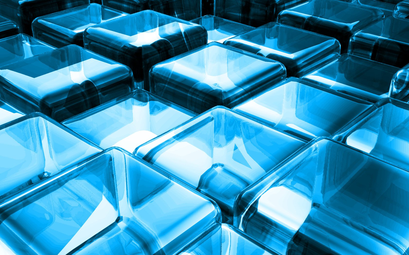CGI - Cube  Abstract Digital Art CGI 3D Wallpaper