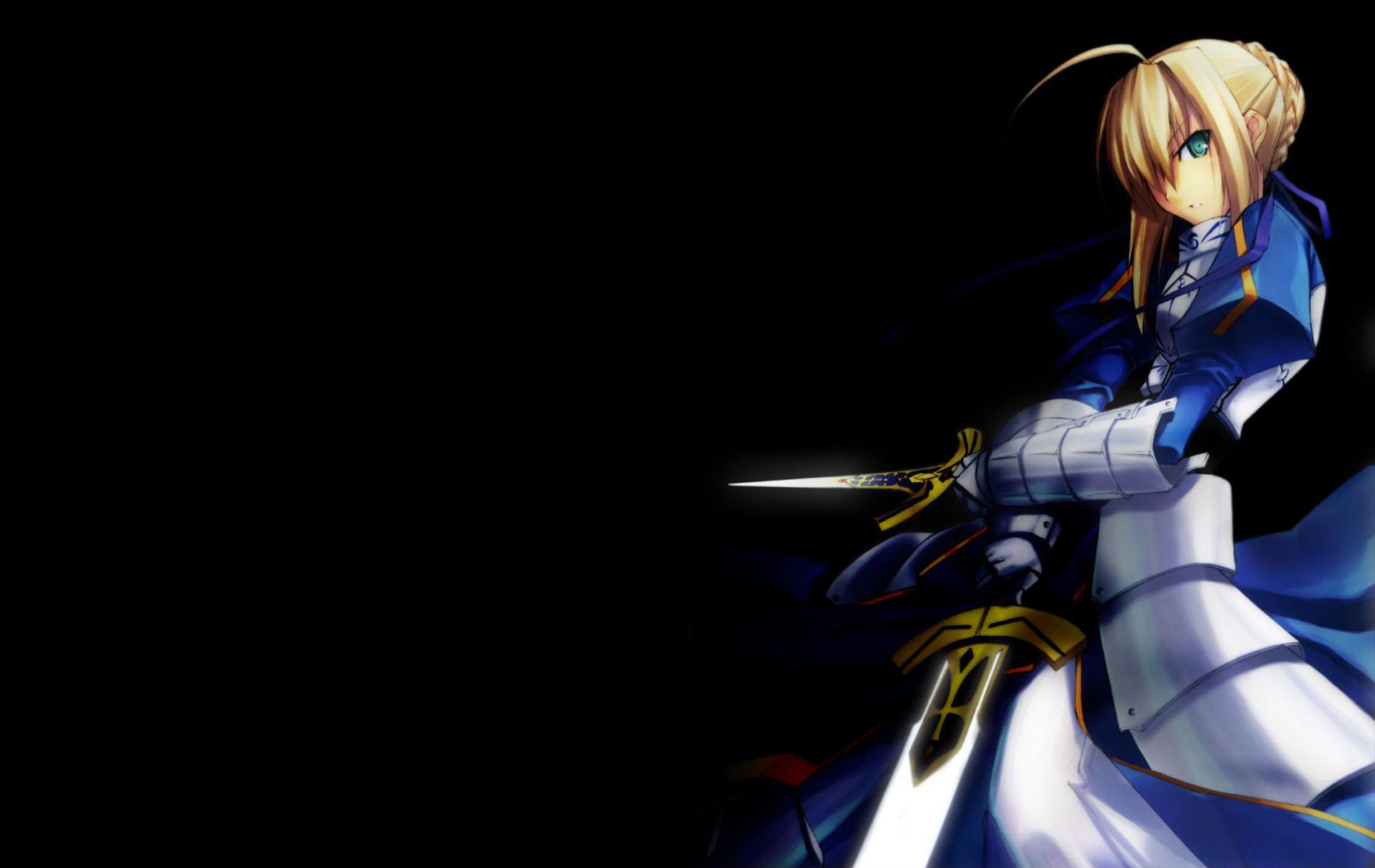 Anime - Fate/Stay Night  - Saber Wallpaper